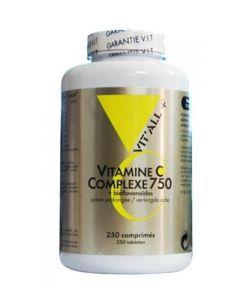 Vitamine C Complexe 750 mg, 250comprimés