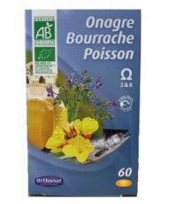 Onagre Bourrache Poisson - Omega 3 et 6