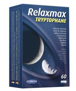 Relaxmax Tryptophane, 60gélules
