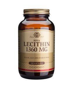 Lécithine de Soja 1360 mg , 100softgels
