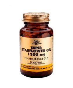 Super Starflower Oil (Huile de Bourrache) 1300 mg, 30softgels