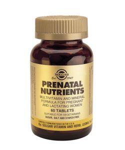 Prenatal Nutrients, 60comprimés