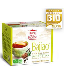 Bajiao - Thé Digestion BIO, 30 infusettes