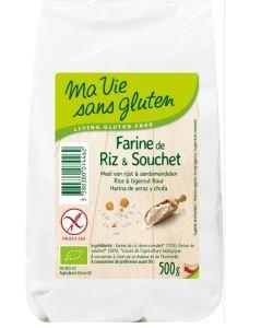 Farine de riz & souchet BIO, 500g