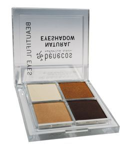 Eyeshadow 4 colors - Coffee & Cream BIO, 8g