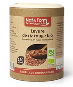 Levure de riz rouge - Gamme ECO BIO, 120gélules