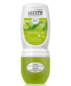 Déodorant Roll-On - Citron Vert & Verveine BIO, 50ml