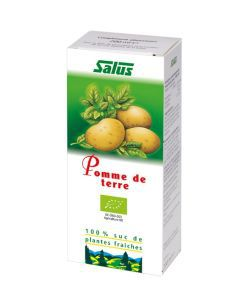 Pomme de terre - Suc de plantes fraîches BIO, 200ml