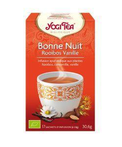 Bonne nuit Rooibos vanille - Infusion Ayurvédique BIO, 17sachets
