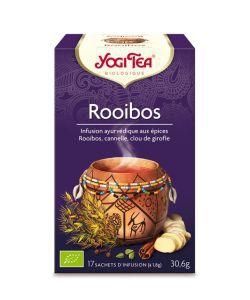 Rooibos - Infusion ayurvédique BIO, 17sachets