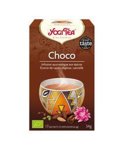 Choco - Infusion ayurvédique BIO, 17sachets