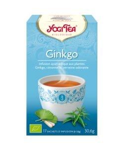 Ginkgo - Infusion ayurvédique BIO, 17sachets