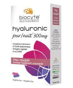 Hyaluronic Jour - Nuit 300 mg, 30comprimés+30gélules
