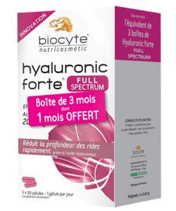 Pack Hyaluronic Forte 200 mg, 90capsules