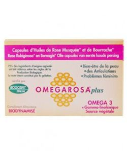 OmegarosaPlus BIO, 60capsules