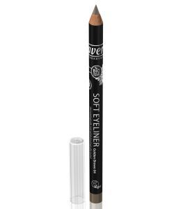 Crayon à paupières Soft Eyeliner n°04 - golden brown BIO, pièce