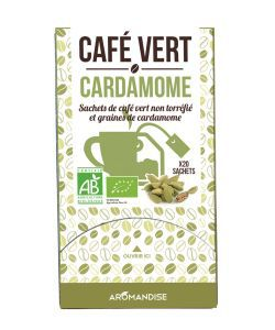 Café Vert - Cardamome BIO, 20sachets