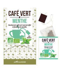 Café Vert - Menthe BIO, 20sachets