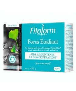 Focus Étudiant BIO, 40comprimés