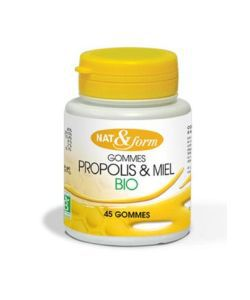 Gommes Propolis & Miel BIO, 50g