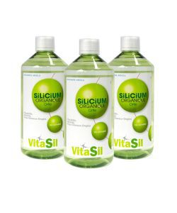 Silicium organique buvable , 3 x 500 ml