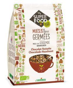 Muesli de Céréales germées - Chocolat Noisette BIO, 350g