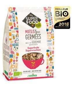 Muesli de Céréales germées - Superfruits BIO, 350g