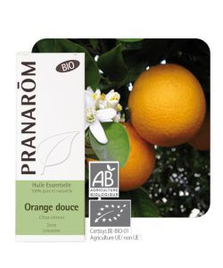 Orange douce (Citrus sinensis) BIO, 10 ml
