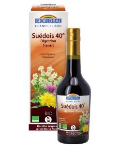 Véritable Elixir du suedois 40° BIO, 375ml