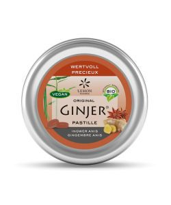 Pastilles Ginjer - Gingembre & Anis BIO, 40 g