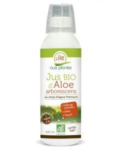 Jus d\'Aloe arborescens au sirop d\'agave Premium - Emballage abîmé