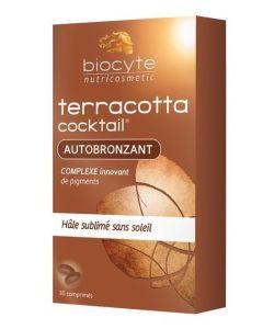 Terracotta Cocktail - Autobronzant, 30comprimés