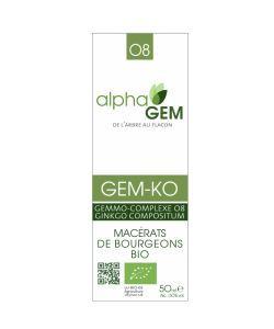 GEM-KO - sans emballage BIO, 50ml