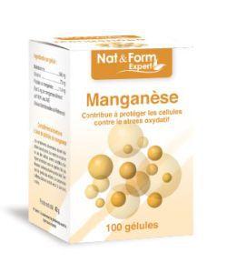 Manganèse, 100gélules
