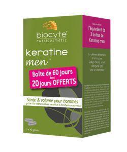 Pack Keratine Forte Men, 120gélules