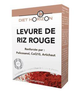 Levure de riz rouge, 60comprimés