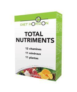 Total Nutriments, 30comprimés