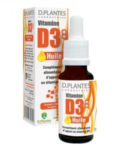Vitamine D3++ Huile, 20ml