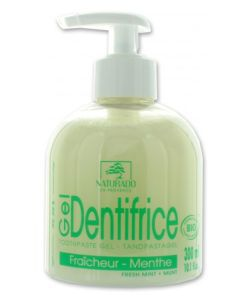 Gel Dentifrice fraîcheur- Menthe BIO, 300ml