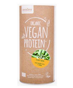 Protéines végétales de Pois - Arôme Goji - Vanille BIO, 400g