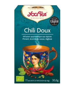 Chili doux BIO, 17sachets