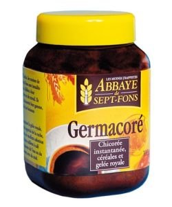 Germacoré - Instant drink chicorey - Abbey of Sept-Fons - 100g
