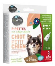 Pipettes antiparasitaires - Chiot/Petit Chien