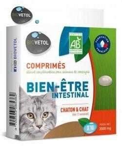 Comprimés Hygiène intestinale - Chats, 10comprimés
