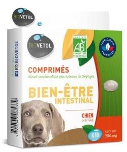 Comprimés bien-être intestinale - Chiens, 10comprimés