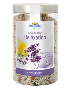 Sels de bain aux fleurs de Bach : Relaxation BIO, 320g