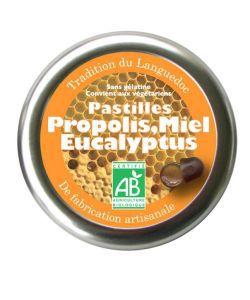 Pastilles Propolis-Miel-Eucalyptus