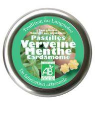 Pastilles Verveine-Menthe-Cardamome