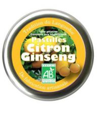 Pastilles Citron-Ginseng