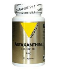Astaxanthine naturelle 4mg